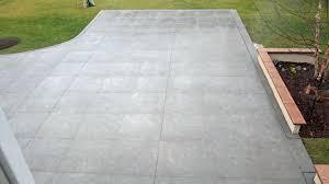 Textured Concrete Patio by Concreteva Com