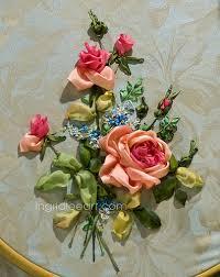 silk ribbon roses silk ribbon roses search needle silk