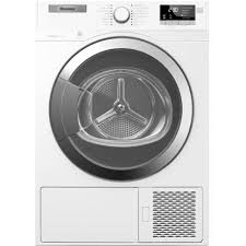 Heat Pump Clothes Dryer Blomberg Heat Pump Ventless 4 1 Cu Ft Electric Dryer In White