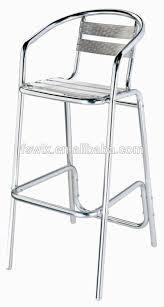 tabouret de bar aluminium achat aluminium chaise tabouret de bar et table buy product on alibaba com
