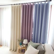 Pastel Coloured Curtains Pastel Coloured Blackout Curtain Drapery Panel