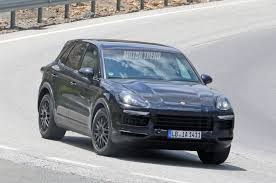 spied next porsche cayenne goes weather testing in spain