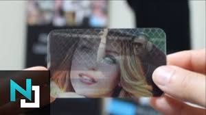 Custom Holographic Business Cards The Best Business Cards On The Market The 4d Cards Youtube