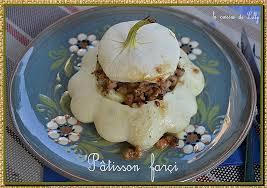 cuisiner un patisson blanc comment cuisiner un patisson p tissons farcis la cuisine de