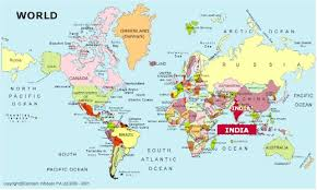 world map in where is mumbai click india in the world map