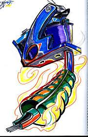 tattoo gun sketch tattoo machine sketch by bucanero11 on deviantart