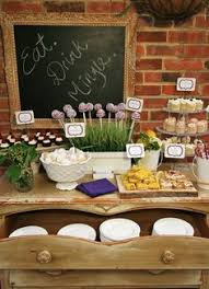 French Cocktail Party - 20 clever party decor crafts country themed weddings rustic