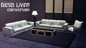 Livingroom Set The Sims 4 Diesel Living Room Set 3t4 Conversion Buy Mode New
