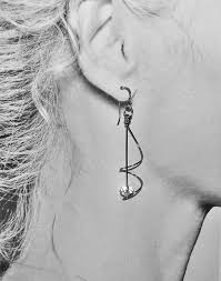 titanium earrings sensitive ears hypo allergenic earrings titanium posts hoops one of a