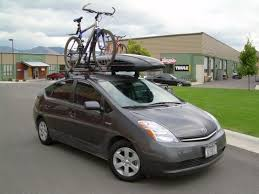 toyota prius bike rack rack custom roof rack for a 2006 toyota prius