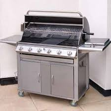 barbecue cuisine mountain premier 6 burner gas barbecue best bbqs bbq