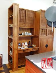 Japanese Style Kitchen Cabinets Hand Made Japanese Style Pantry Workstation By Eastern Classics
