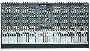 Sound Desk U0026 Heath Gl2400 4 Buss Live Sound Mixing Desk
