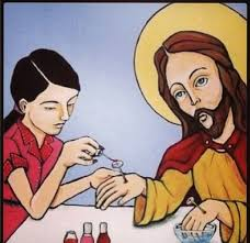 Jesus Easter Meme - its easter heres jesus getting his nails painted meme guy
