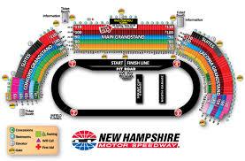 Las Vegas Motor Speedway Map by Chart Texas Motor Speedway Seating Chart