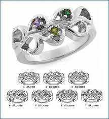 7 mothers ring s 1 to 7 stones s ring