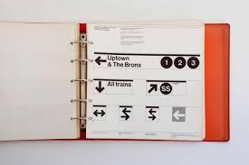 50 Meticulous Style Guides Every Photos Of The Nycta Graphics Standards Manual