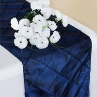 Navy Blue Table Runner Navy Blue Satin Table Runner Efavormart