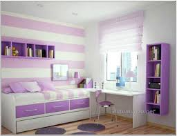 Exciting Attic Pink Wall Decor Teenage Girls Bedroom With Car - Home decorators bedroom