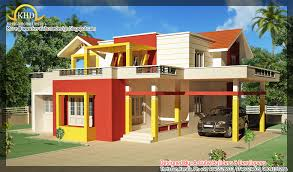 Kerala Home Design October House Elevation 2000 Sq Ft Home Appliance