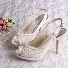 chaussure mariage ivoire chaussure mariage ivoire dentelle robe ivoire chaussures blanches