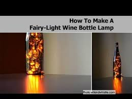 how to make fairy lights how to make a fairy light wine bottle l