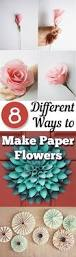 How To Make Easy Paper Flowers For Cards - best 25 paper flowers diy ideas on pinterest paper flowers diy