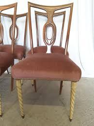 Esszimmerst Le Preis Italienische Stühle Von Pier Luigi Colli Für Fratelli Marelli 6er