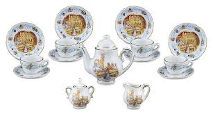 beatrix potter tea set potter rabbit 150th anniversary collection limited edition