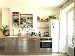 cuisine bois et gris cuisine bois et blanc idées pour la maison