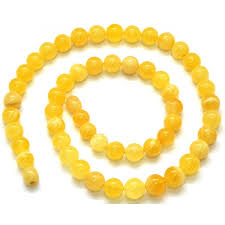round bead necklace images Yellow baltic amber round beads necklace from online baltic amber JPG