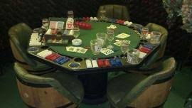 Whiskey Barrel Chairs Ship A 5 Bourbon Whiskey Barrel Chairs Poker Table Texas To Medina