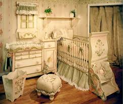 Vintage Nursery Decor Baby Nursery Vintage Baby Room Decoration Using Classic Crib And