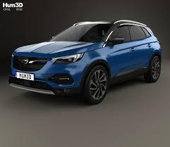 opel mokka interior 2017 opel grandland x 2017 3d model hum3d