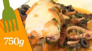 cuisiner des calamars recette de calamars farcis ou lulas recheadas 750 grammes