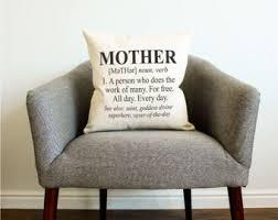 Decorative Definition Definition Pillow Etsy
