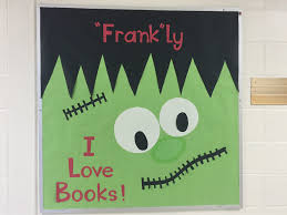 library bulletin board for october frankly i love books www