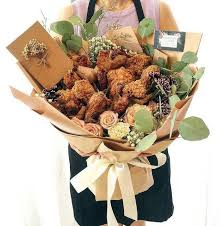 food bouquets fried chicken bouquet is the new gift of this s day