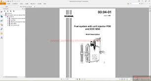 free auto repair manual scania truck workshop manual technical