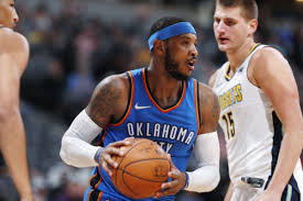 thunder opener against knicks gives carmelo anthony chance to