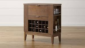 Bar Cabinet For Sale Parker Spirits Bourbon Cabinet Crate And Barrel