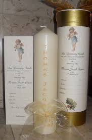 christening candles christening naming candles candledesigns