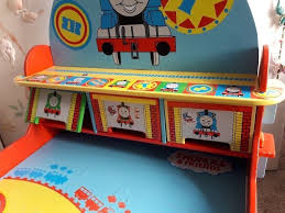 thomas the tank engine desk plus storage chair all for 3