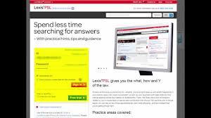 lexisnexis uk office lexispsl website demo youtube