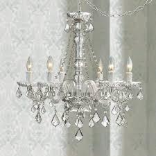 hanging a chandelier chandeliers inspire plug in hanging chandelier picture concept