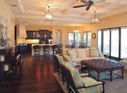 contemporary open floor plans open floor plan kitchen living room fionaandersenphotography co