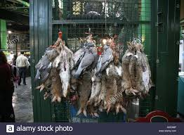 game birds for sale in borough market london stock photo royalty