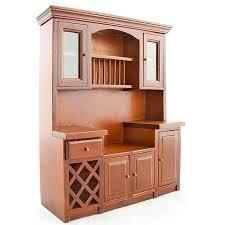 kitchen dollhouse furniture vintage walnut wood cabinet dollhouse furniture