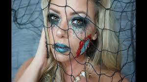 evil mermaid halloween makeup tutorial youtube