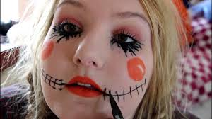 Halloween Costumes Makeup by Scarecrow Halloween Tutorial Diy Makeup Hair Costume Inexpensive